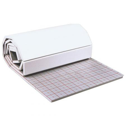 rolljet 35 3mm 10 m d mmmatte tackerplatte f r fu bodenheizung mit tackersystem ebay. Black Bedroom Furniture Sets. Home Design Ideas