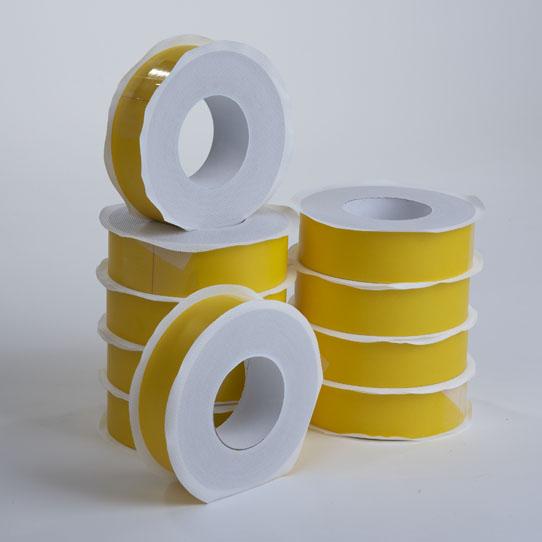 2 klebeband 60mm gelb dampfsperrfolie dampfbremsfolie dampfsperre dampfbremse ebay. Black Bedroom Furniture Sets. Home Design Ideas